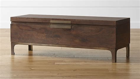 Jada Trunk in Benches   Crate and Barrel