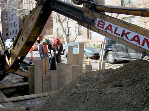 Safety Plumbing Ny by Construction Site Safety For Nyc Sewer And Water Work