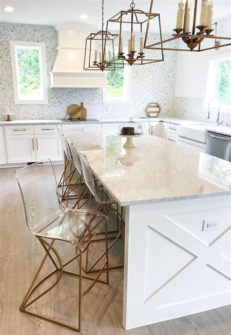 Gabby Johnson Counter Stool by Best 25 Waterfall Countertop Ideas On Marble