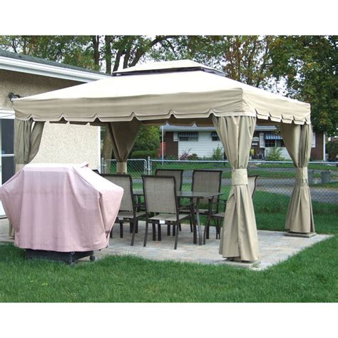 10x12 gazebo rona sojag 10x12 montego bay replacement canopy and