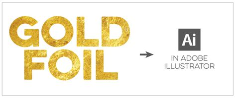 illustrator tutorial gold effect gold foil the definitive designers guide creating and