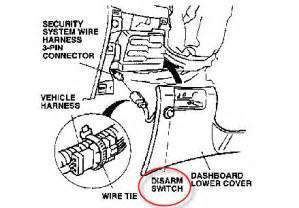 97 accord remote not turning alarm off honda tech