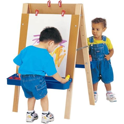 easel for toddlers jonti craft toddler adjustable easel 4181jc lowest price