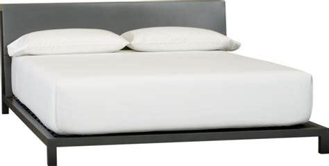 cb2 alpine bed alpine gunmetal queen bed cb2