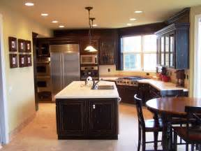 Cheap Kitchen Island Ideas cheap kitchen remodel ideas completed with cabinets and kitchen island