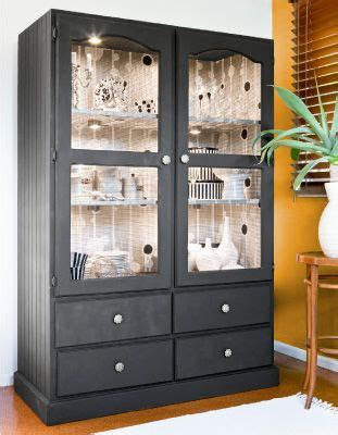 china cabinet after decorating ideas pinterest