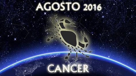 horoscopo 2016 asi le ira a cancer leo y virgo el ano que hor 243 scopo c 225 ncer agosto 2016