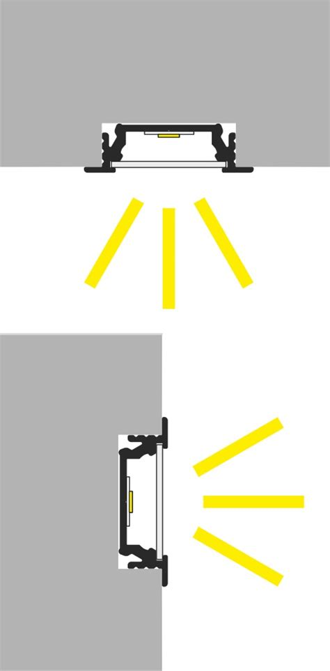 led da pavimento profilo led da pavimento kit montaggio vendita