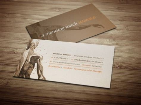 Therapist Business Cards Ideas