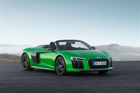 Audi Aplus by Audi Reveal R8 Spyder With V10 Plus Package