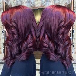plum color hair purple hair on spaatlantis purplehair plum