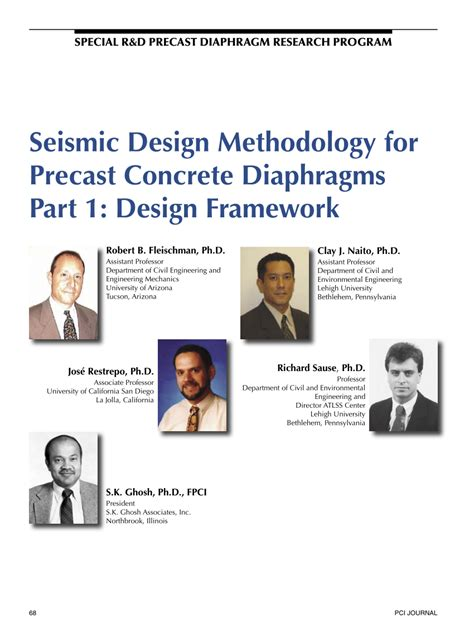 seismic design criteria version 1 7 seismic design methodology for precast pdf download