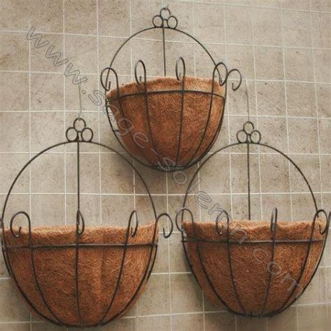 Plastic Half Wall Planters by Half Coco Liner For Wall Hanging Planter Buy Half