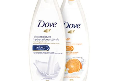 coupons rabais gel douche dove