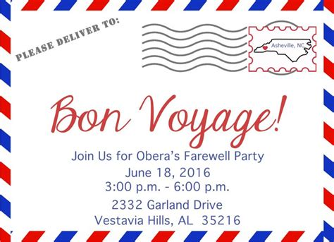 invitation voyage images invitation sle and