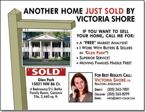 real estate just sold flyer templates real estate postcards templates design exles