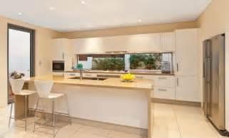 Kitchen Designs With Windows freshwater contemporary open plan kitchen with splashback window