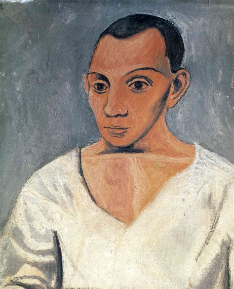 picasso paintings self portrait self portrait pablo picasso wikiart org