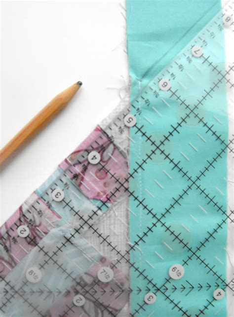 mitered corners on quilt borders sewing tutorial