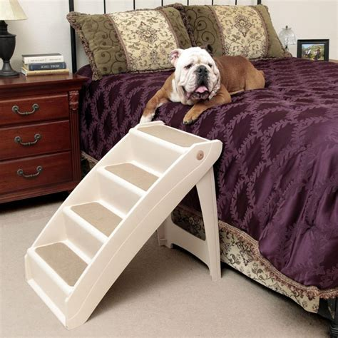 raised dog bed with stairs diy elevated dog bed upcycled dog bed nightstand elevated bed your bed with stairs
