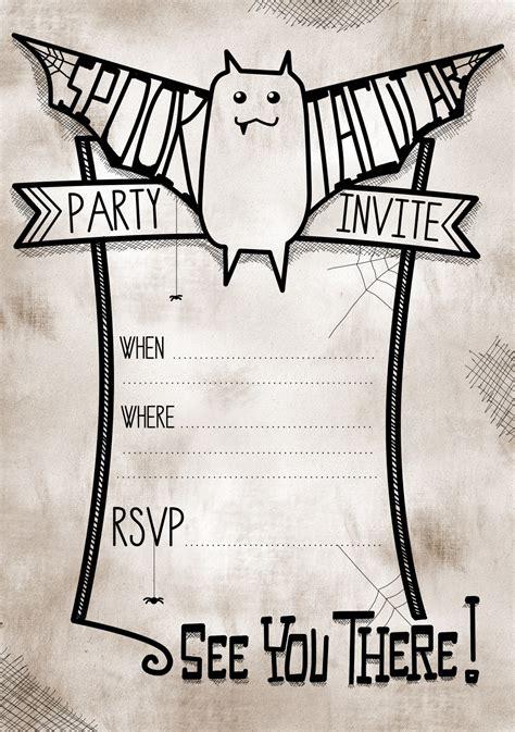 make printable halloween invitations printable halloween party invitations theruntime com