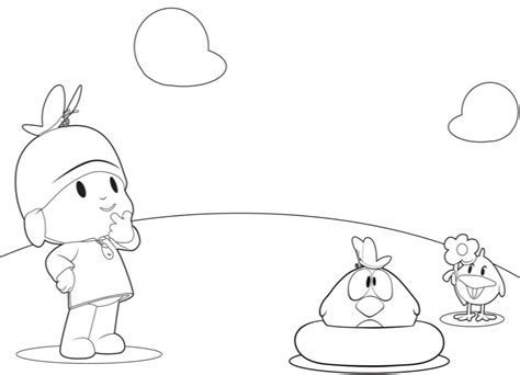 Free Printable Pocoyo Coloring Pages For Kids Pocoyo Coloring Pages