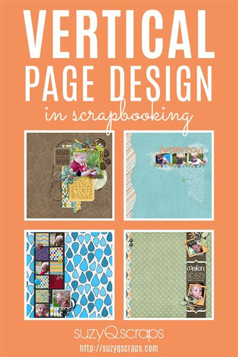 layout design vertical vertical scrapbook page design create a page that moves