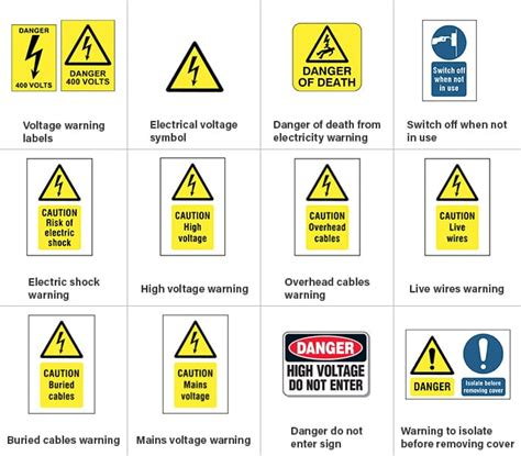 boat safety quiz electrical safety symbols signs do you know them