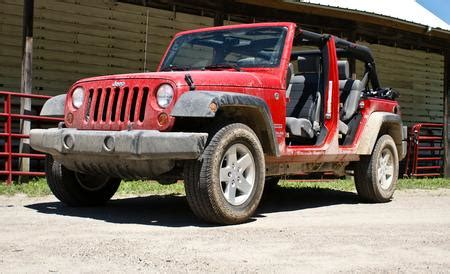 2010 jeep wrangler sport reviews 2010 jeep wrangler unlimited sport review car and driver