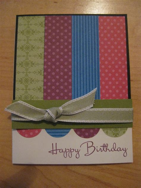 Simple Handmade Birthday Card Designs - handmade card simple but beautiful card ideas
