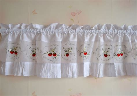 get cheap strawberry kitchen curtains aliexpress
