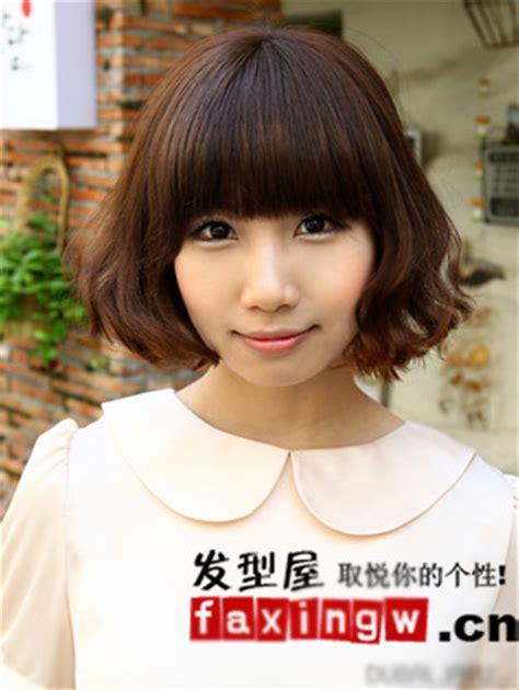 肉感脸女生必看 瘦脸短发发型图片-女士发型-专业的发型设计屋 Fgfdfd
