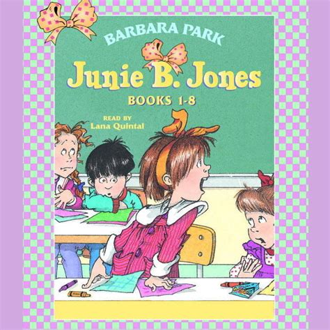 s voice books junie b jones collection books 1 8 audiobook by