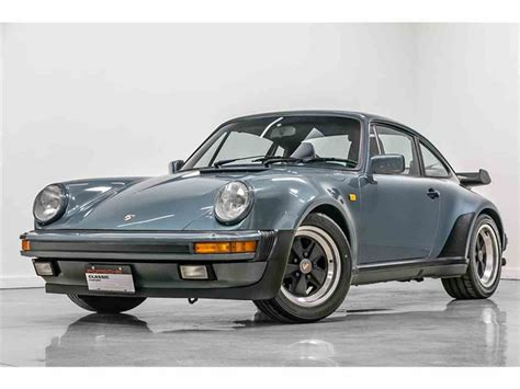 Porsche C 911 by 1987 Porsche 911 Turbo For Sale Classiccars Cc 1060475