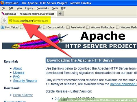 installing xp apache as service how to install the apache web server on a windows pc