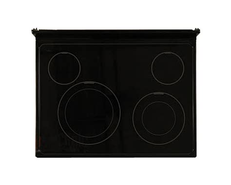 replacement glass cooktop whirlpool ywfe366lvq0 glass cooktop replacement