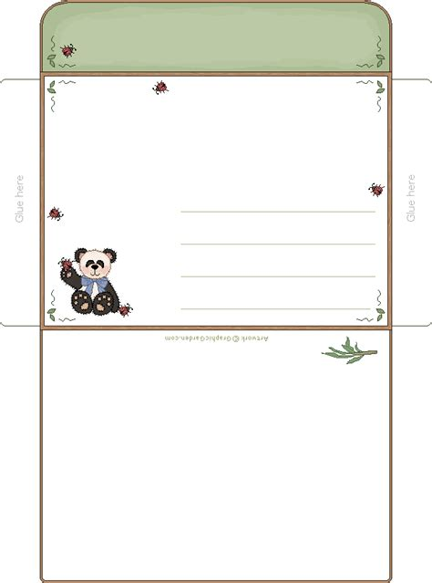 printable animal envelopes 1000 images about boxes bags envelope on pinterest