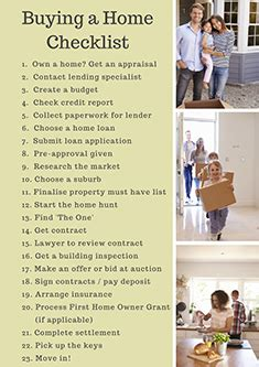 checklist to buy a house lj hooker real estate buying real estate