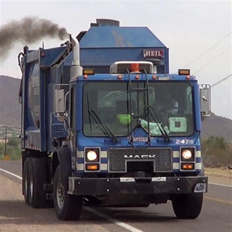 truck az garbage trucks az