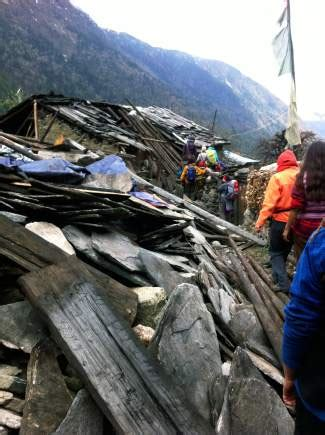 schirpa pavillon sherpa foundation raises funds for villages in nepal