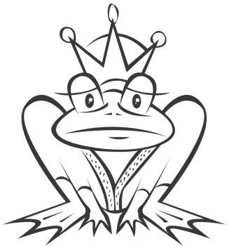 coloring pages of the frog prince frog prince animals coloring pages