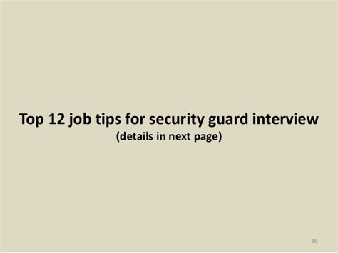 88 security guard questions and answers