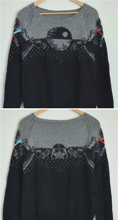 star pattern knit sweater star wars knitting patterns in the loop knitting