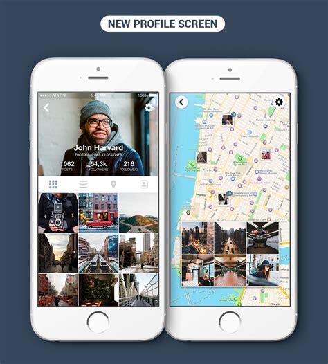 graphic design instagram app instagram app redesign concept on behance