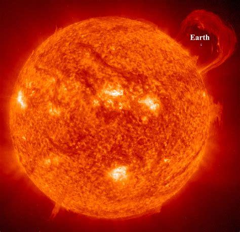 Mata Rossa earth compared to sun earth