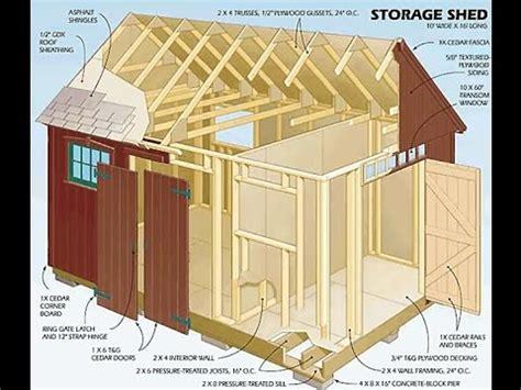 backyard storage shed plans diy review  storage