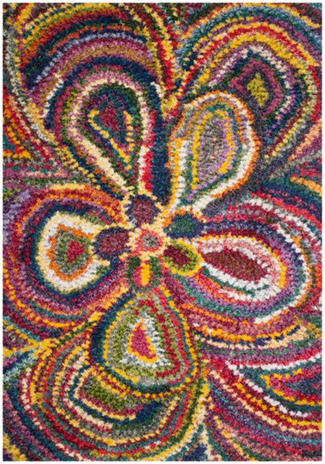colorful shag rug colorful shag rugs shags safavieh