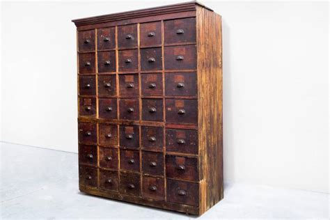 Multi Drawer Storage Cabinet Large Antique Multi Drawer Storage Cabinet Circa 1890s For Sale At 1stdibs