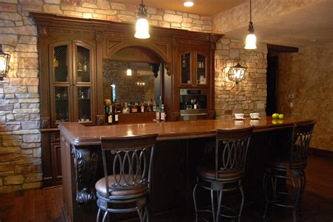 custom home bar cabinets  graber