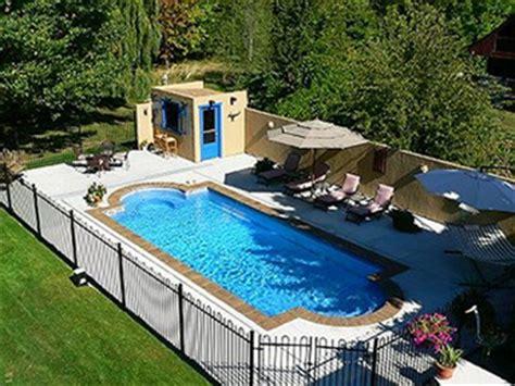 Landscape Ideas Around Inground Pool Inground Pools Rintoul S Leisurescapes Above Ground